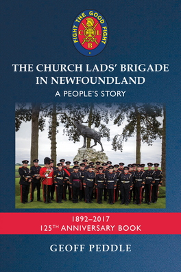 Flanker Press The Church Lads Brigade in Newfoundland